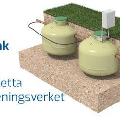 BAGA BioTank Minireningsverk