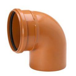 Markgrossen avloppsboj 247x247 - PVC Böj Markavlopp 160X88°