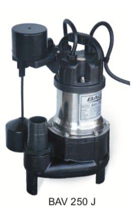 BAGA Gråvattenpump BAV-250J