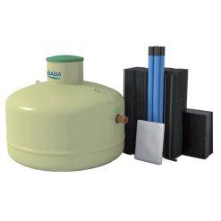 BAGA Effektiv Slamavskiljare + Biomodulpaket