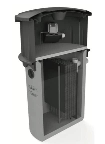 Markgrossen Vestelli bioreaktor för BDT