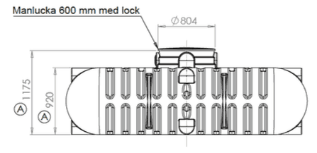 markgrossen cipax matt sidan - Cipax Sluten tank