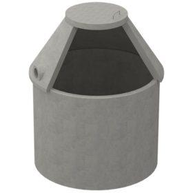 Sluten tank i betong