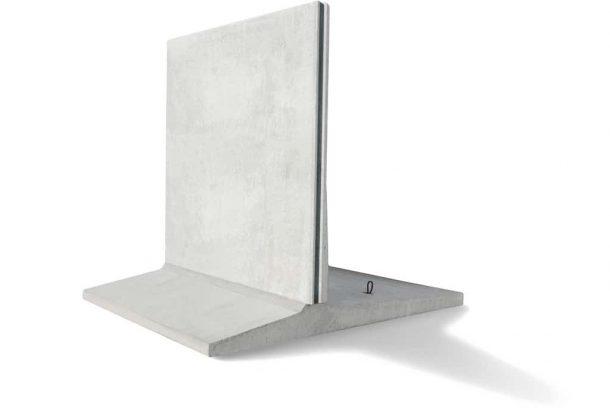 T Stöd för att bygga Stödmur i betong med hög höjd