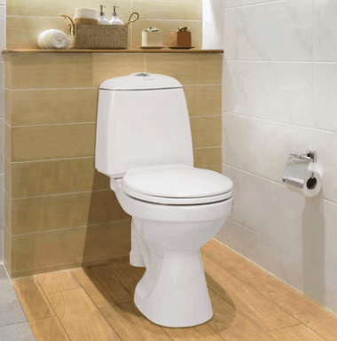 Wostman snålspolande WC